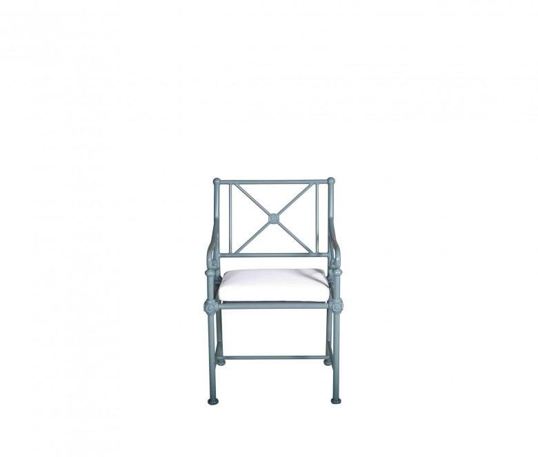 Fauteuil de jardin en aluminium - 1800 BLEU
