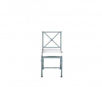 Chaise de jardin en aluminium - BLEU