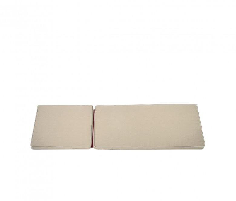 Matelas chaise longue sable - Camarat XL
