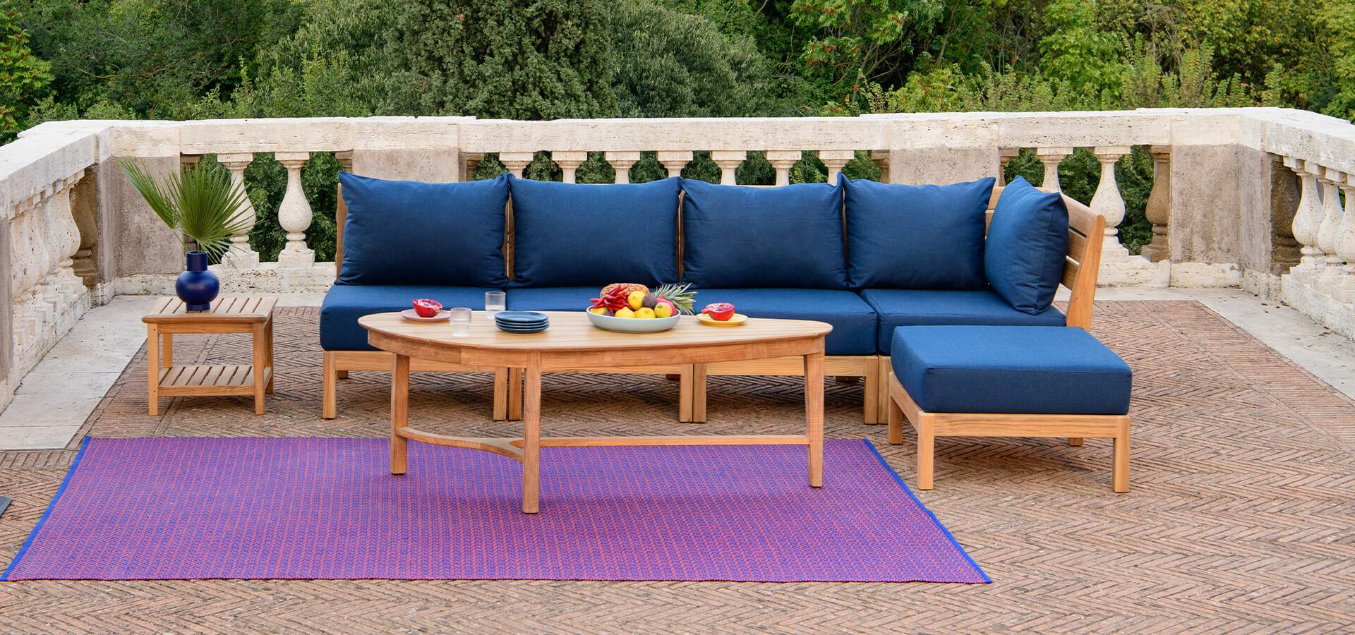 3 idées de salons de jardin