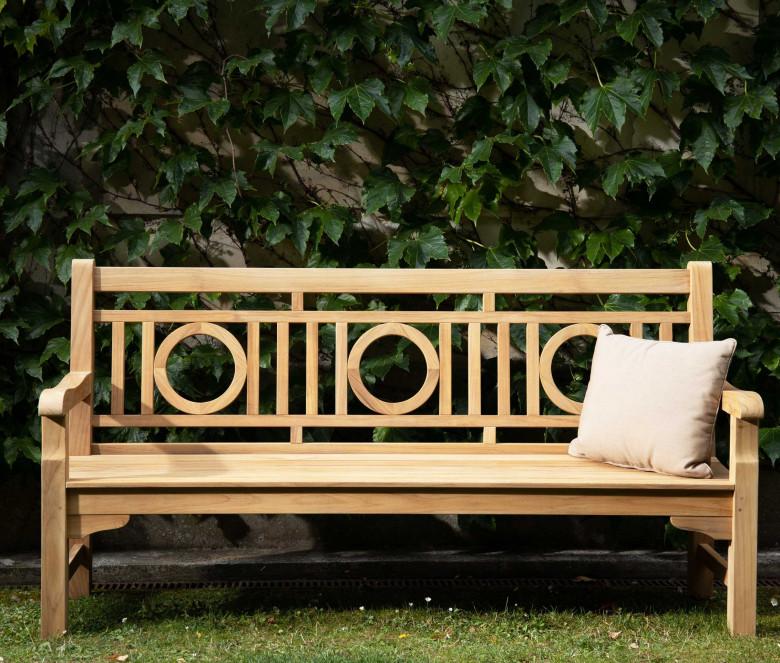Banc de jardin en teck 150 cm
