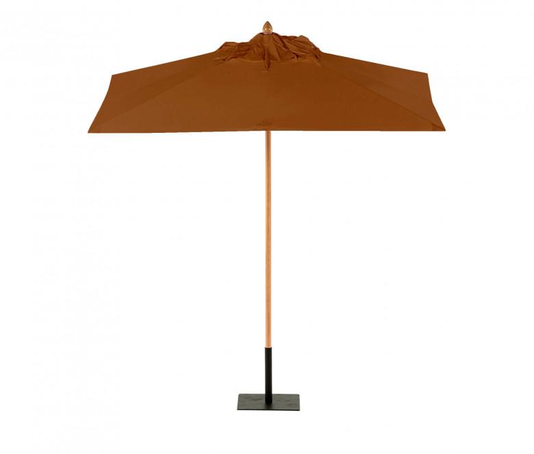 Parasol carré 2,5 x 2,5 m - Roma toile écrue