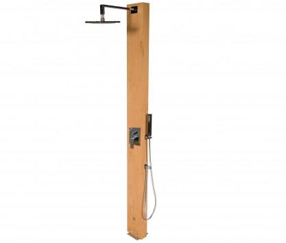 Douche avec mitigeur inverseur + pomme douche Ø 25 cm