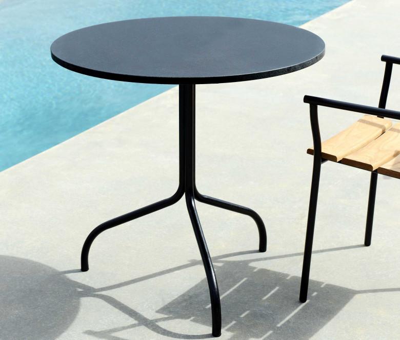 Table de jardin ronde pour 2 personnes - Cicala