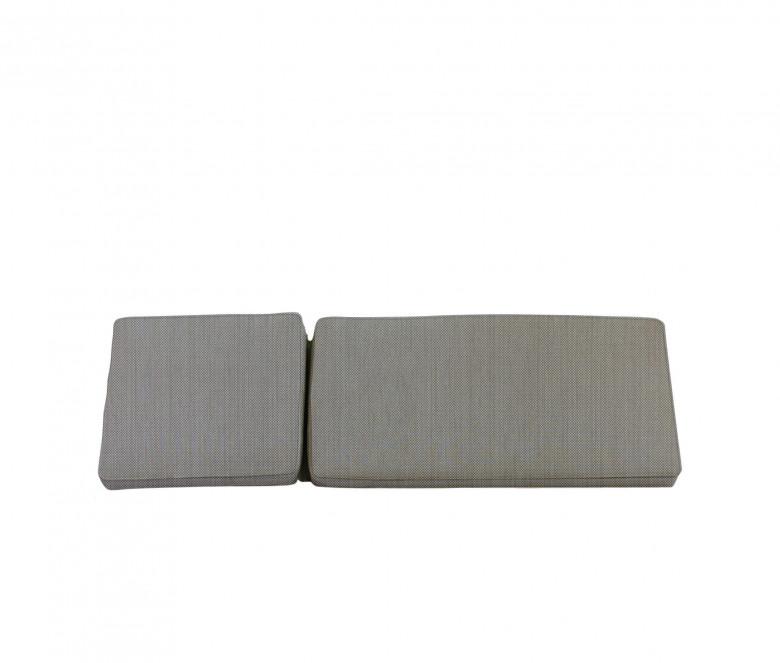 Matelas chaise longue taupe - Camarat XL
