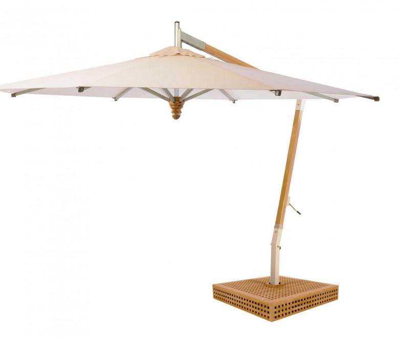 Parasol déporté rond Ø 4 m- Colibri