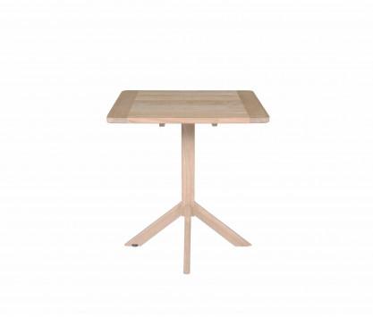 Teck tavolo quadrato 70 x 70 cm