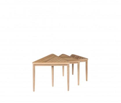 Teck tavolino d'appoggio