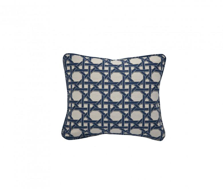 Cuscino schienale Impagliatura Celeste blu